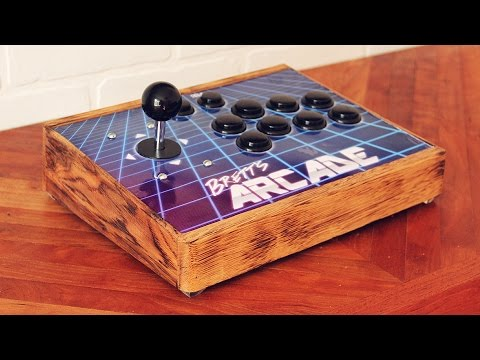 Portable All-In-One Arcade from Oak Pallet and Raspberry Pi