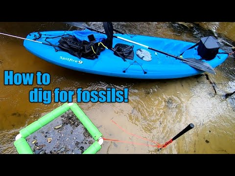 How To DIG And SIFT For FOSSILS And SHARK TEETH In CREEKS And RIVERS (Intro Video)