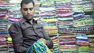 Sari shopping in Jaipur, India!