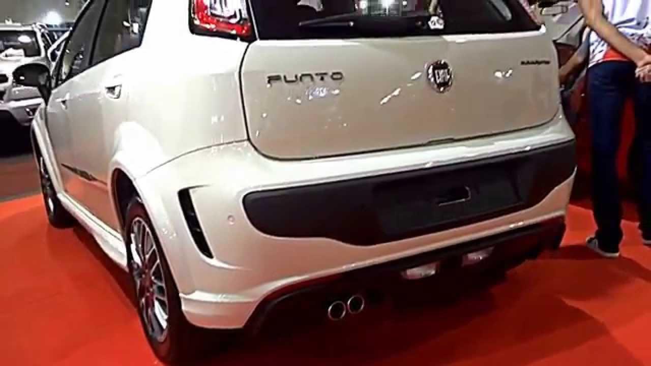 SALÃO DE CURITIBA 2014 Fiat Punto Blackmotion 1.8 16v 2015 ...
