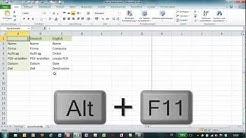Excel - Formulare mit Schaltflächen - Wechsel der Formularsprache