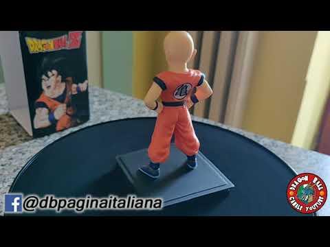 Dragon Ball Z Collezione Statuine 3D -4 USCITA- Crilin (Corriere dello Sport)