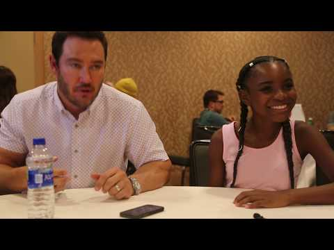 The Passage Mark Paul Gosselaar and Saniyya Sidney Part 1