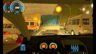 City Car Driving - Foggy Night Gameplay [HD]
