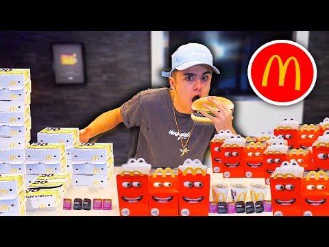 MCDONALDS EATING CHALLENGE!! {Breaking World Records}