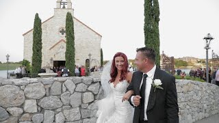 Lisa + Chad Wedding Highlight Film at Bella Donna Chapel | Adriatica |  Zpro Films