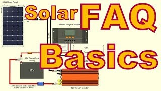 Solar Series -  Frequently Asked Questions  Basic System