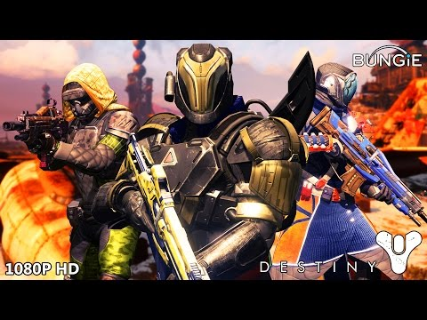 DESTINY Multiplayer Gameplay 1080P HD | BUNGIE Destiny PS4 CRUCIBLE PVP Review