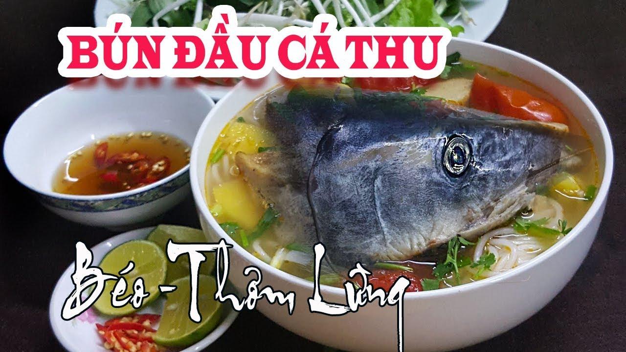 Món Ngon Dễ Làm | Hướng Dẫn Nấu Bún Đầu Cá Thu | Bí Kíp Nấu Bún Cá Cho Ngon | Mai Râng TV