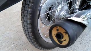 Honda CG125 Euro 2    sound test and look