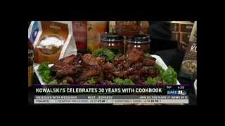 Kowalski's 30th Anniversary Cookbook (10/9/13 on KARE 11)