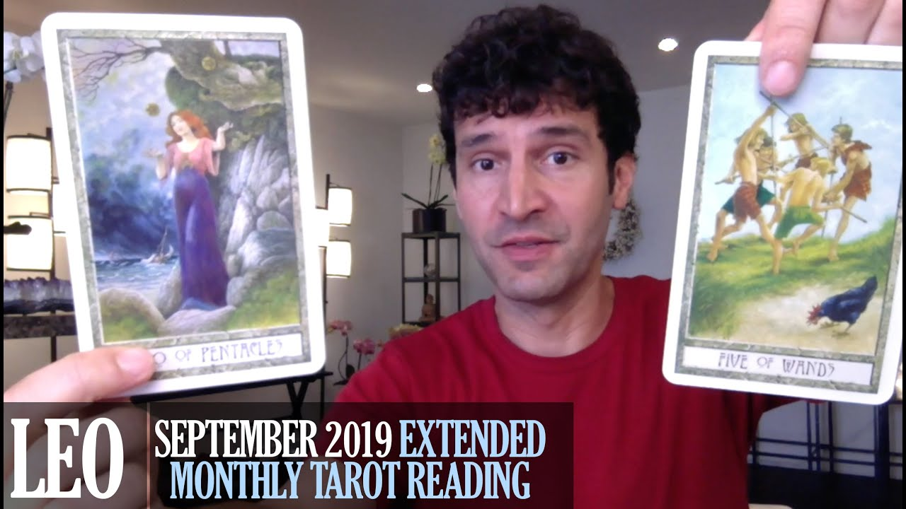 LEO September 2019 Extended Monthly Intuitive Tarot Reading by Nicholas  Ashbaugh