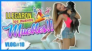 ¡LLEGARON LOS MUEBLES NUEVOS! 15 y 16 Ago 2017