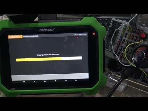 OBDSTAR Key Master DP Plus Do FIAT Delphi 93C66 Pincode Reading