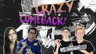 CRAZY COMEBACK!!! $20,000 Fortnite Tournament - FaZe Tfue & Cloak vs. Spacelyon & ChicaLive