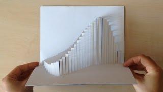 Amazing Wave Pop Up Card Tutorial
