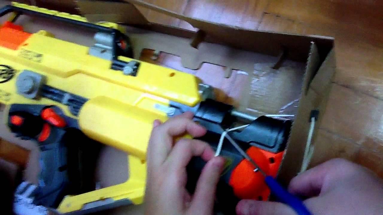 Nerf Stampede Ultimate Ecs Full Auto N Strike Blaster Gun