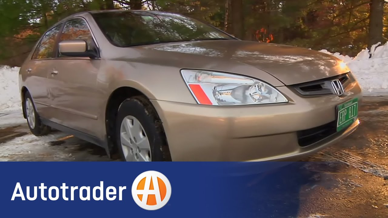 2003 2007 Honda Accord   Sedan | Used Car Review | AutoTrader   YouTube