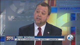 INTERVIEW: Terry Bowman (R) - Candidate for U.S. Congress District 12, Michigan