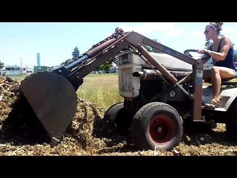 Repeat Bolens HT20 with Johnson Workhorse loader  by