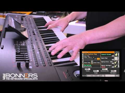 Korg PA4x Demo By Bonners Music Part 1 - Overview & Pianos