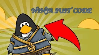 NEW NINJA SUIT CODE (Club Penguin Rewritten)