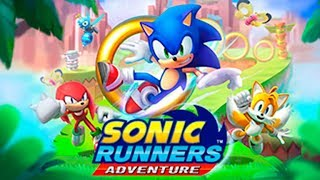 Sonic Runners Adventure (Android/v.1.1.0) - Gameplay Showcase