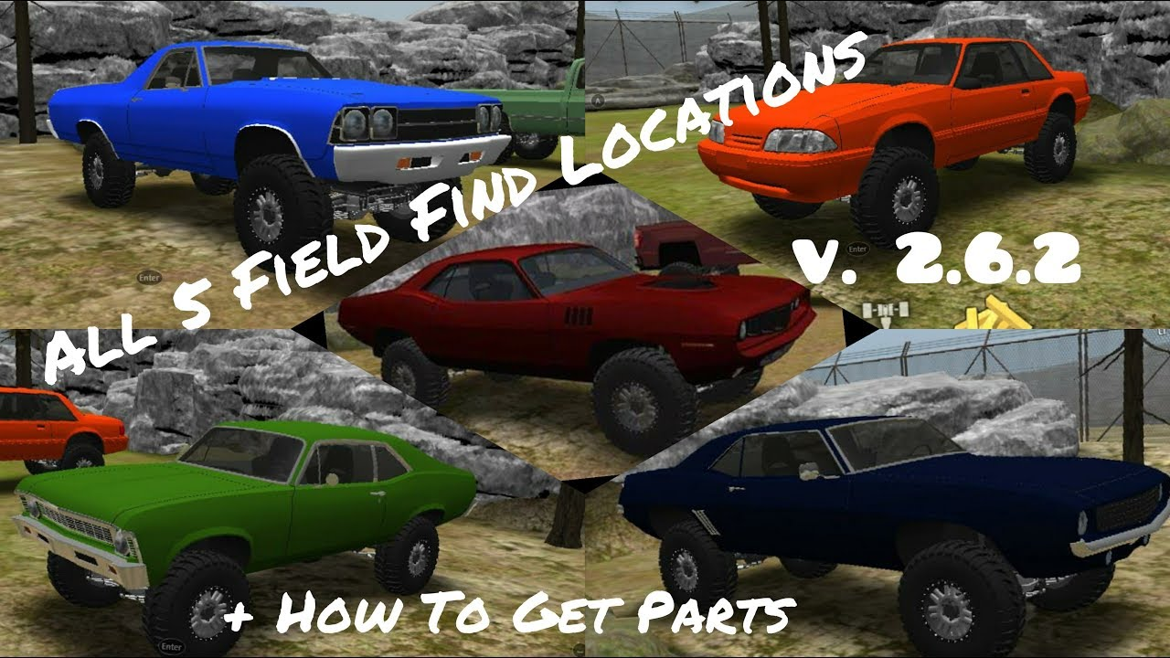 Offroad Outlaws V 2 6 2 All 5 Field Find Locations How To Find