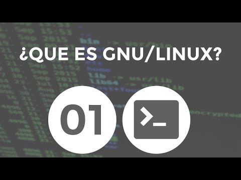 ¿Que es GNU/Linux? - Curso de GNU/Linux #01