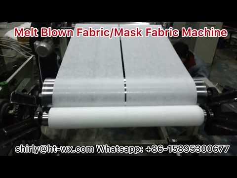 Full Automatic Melt Blown Fabric/Mask Fabric Making Machine!!
