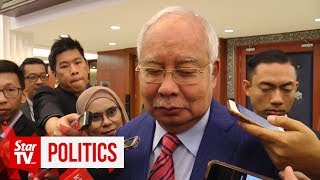 Najib: Meeting should be at an office, not at home