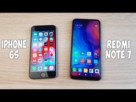 IPHONE 6S VS REDMI NOTE 7 - ЧТО ЛУЧШЕ? ПОЛНОЕ СРАВНЕНИЕ!