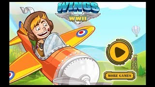 Pocket Wings WW2 Game Walkthrough | Aircraft Games