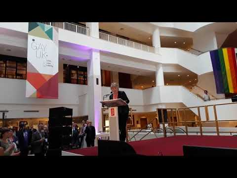 British Library Launch of Gay UK exhibition (LGBT Poet Laureate)