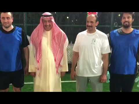 المنافسة الأخوية مساء أمس في #كرة_القدم بـ # أبوحليفة بين فريقي ديوان #العرين وديوان # أبوحليفة بملاعب # العز بأبوحليفة