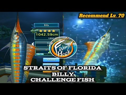 Billy - straits of florida (Challenge fish) kail pancing /fishing hook