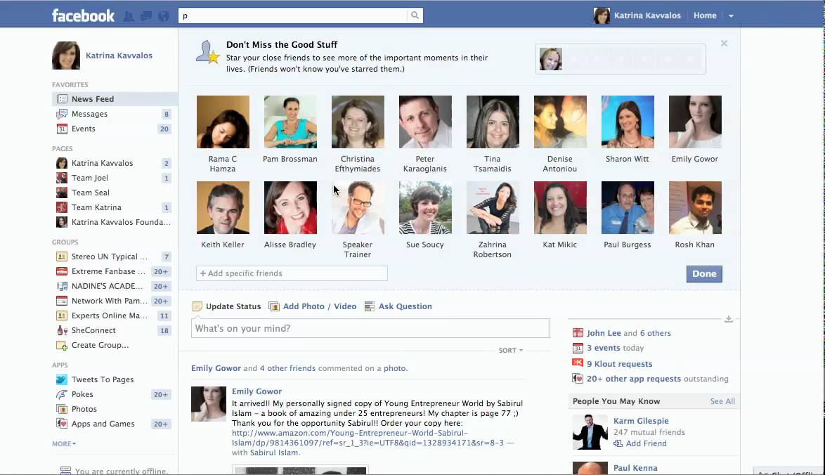 Facebook Friends List On Profile | www.pixshark.com ...