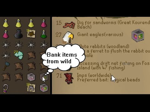 Best Place To Hunt Imps (Osrs) Bank Items From Rev Caves!