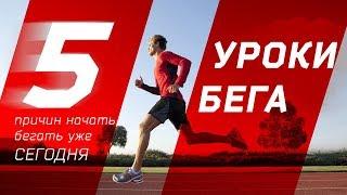 Уроки бега: 5 причин начать бегать уже сегодня.