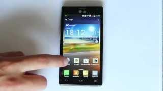 LG Optimus 4X HD: Videopohled na čtyřjádro s Androidem 4.0.3