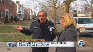 DPD Can't Remove Suspected Squatters