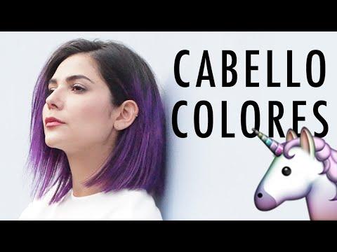 Mi nuevo cabello violeta 👾 Vive el cambio