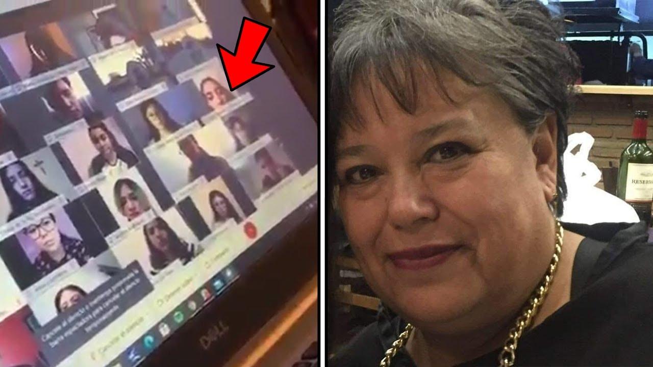 Maestra regaña a sus alumnos clase en linea / VIDEO VIRAL