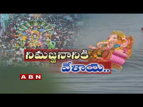 High Security Arrangements for Ganesh Immersion in Hyderabad