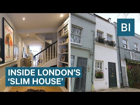 Inside London's 'Slim House' That Is 7 Feet Wide And Costs £1m
