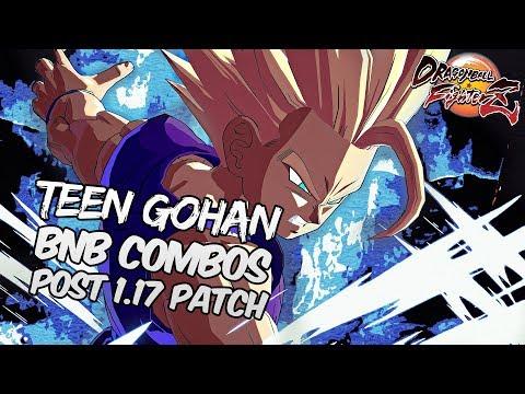 Repeat DBFZ 1 17 Blue Goku BnB Combos | DRAGON BALL FighterZ