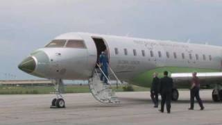 In Bombardier's Global Vision Flight Deck