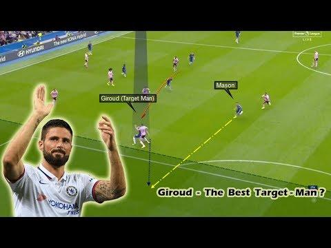 Olivier Giroud - The Best Target Man? Player Analysis