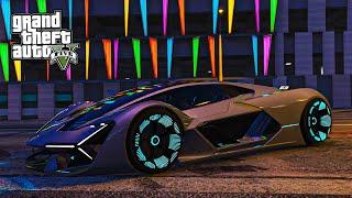 ซุปเปอร์คาร์แห่งอนาคต Lamborghini Terzo Millennio GTA V Mod
