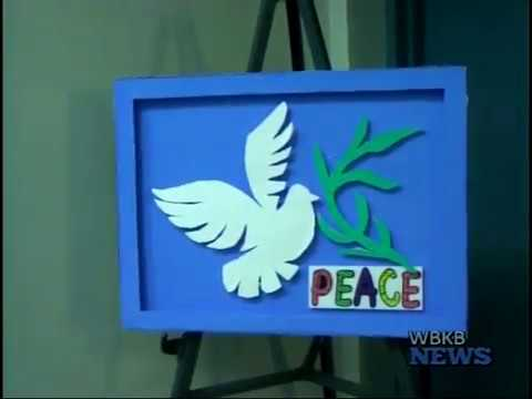 Local Students Wrap Up 30 Days of Peace With Art Collections